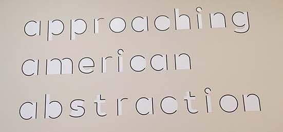 MOMA signage