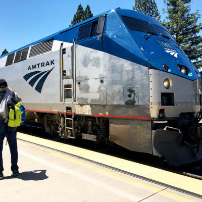 Amtrak Zephyr Experience from Colfax to Denver