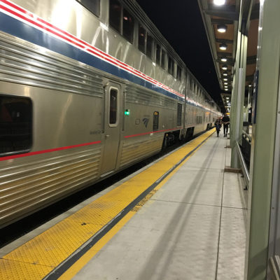 Train Trip from Sacramento to British Columbia